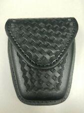 New Heros Pride Handcuff Case Basketweave Leather