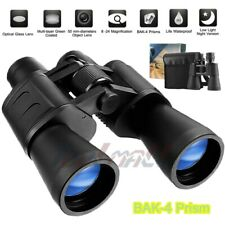 Day/Night 180x100 Zoom BAK4 Military Binoculars Optics Hunting Camping Powerful