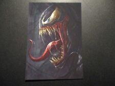 VENOM spiderman eddie marvel comics Art 5X7 Postcard poster print robert bruno