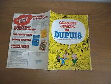 superbe catalogues Dupuis 32 pages an'84 Franquin-morris-Jijé-tillieux etc...