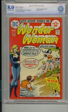 Wonder Woman #216 Cbcs 8.0 Black Canary Batman Not Cgc