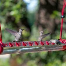 New listing Bob's Best Hummingbird Feeder with Hole Birds Feeding Pipe Easy to Use 40cm
