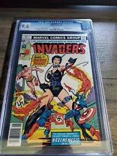 THE INVADERS #17 CGC 9.6 WHITE PAGES FIRST APPEARANCE OF WARRIOR WOMAN