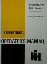 Ih International Cub Cadet 1000 1200 Garden Tractor Mower Deck Owner Manual 28pg