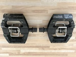 Crankbrothers Mallet E Enduro Clipless Platform Pedals Black RRP £150