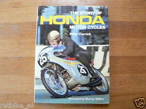 THE STORY OF HONDA MOTOR CYCLES,PETER CARRICK,HAILWOOD,EGLI HONDA,DAX,ELSINORE
