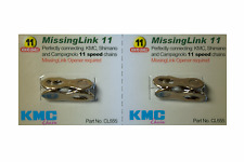 New Genuine 2 Sets KMC Missing Link 11 Speed CL555 For KMC & Shimano Gold
