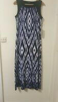 BNWT Roman Maxi Tie Dye Design Cruise Holiday Dress Size 14