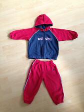 Adidas Sportanzug Gr. 92 98 Jogginganzug Jacke + Sporthose rot