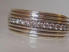 Royal Cord Pave Diamond Ring $2450 David Yurman Mens Silver