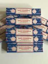Encens Satya Sai Baba Nag Champa - Lot 3 boites - Pure tradition Indienne