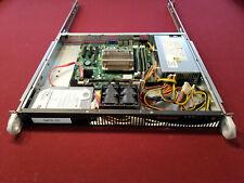 Supermicro 1 Ru, Cse-512F-350B, X10Sll-F, Xeon E3-1275 v3 3.5 Ghz ,24Gb Ram