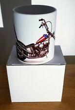 Personalised biker mug american chopper retro motorcycle