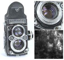 ROLLEIFLEX WHITE FACE 2.8F 2.8 F CAMERA CHECKED W.FILM, SCHNEIDER XENOTAR 80/2.8