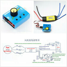 Max 600W ESC Drive Controller DC12V 50A For Electric Turbine Power Turbo Air Fan