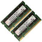 4GB 2x2GB Memory RAM Laptop DDR2 PC2 6400 800 Mhz 200 pin SODIMM HYNIX