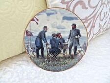 "Danbury Mint Legends In Gray ""Planning The Attack"" Civil War Plate Mort Kunstler"
