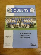 26/08/1997 LA REGINA DEL SUD V Stirling Albion. grazie per la visualizzazione di questo oggetto,