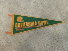 California Bowl Game I Collector'S Piece _ Autographed Pennant 1981