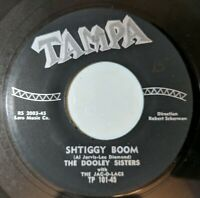 Dooley Sisters: Shtiggy Boom / Johnny My Love 45 Tampa Doo Wop VG