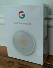 Nest Thermostat E - White - Brand New, Factory Sealed, Free Shipping