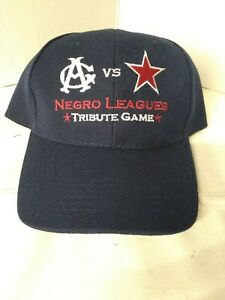 Detroit vs Chicago Negro League Tribute Game Strap Back Hat Comerica Bank
