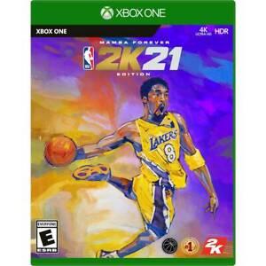 NBA 2K21 Mamba Forever Edition (Microsoft Xbox One) - Brand New