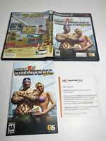Outlaw Volleyball Remixed Sony PlayStation 2, 2005 case and booklet only. Ps2