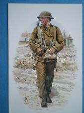 POSTCARD NORTHUMBERLAND FUSILIERS FRANCE 1916 CORPORAL
