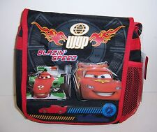Disney CARS LIGHTNING McQUEEN WGP Insulated LUNCH BAG Tote Lunchbag Case NEW!!