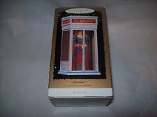 HALLMARK KEEPSAKE CHRISTMAS ORNAMENT SUPERMAN 1995 IN BOX