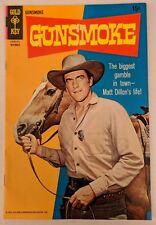 Gunsmoke #5 Gold Key Comics 1969 Western James Arness Photo cover