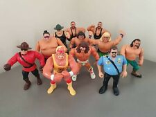 WWF Hasbro Wrestling Figures Lot, RARE WWE WWF wrestlers Series 1-9 (1 of 3)