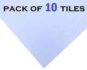 Blue Feel Suspended Ceiling Tiles Hygienic Vinyl 595x595 600x600 EasyClean 10x
