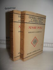 LIBRO Opera Omnia Alfredo Oriani MEMORIE INUTILI Vol.I e II 1^ed.1927