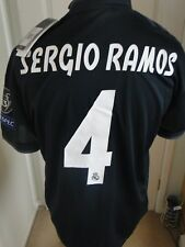** SERGIO RAMOS **REAL MADRID CHAMPIONS LEAGUE AWAY SHIRT 2018-19 BNWT LARGE