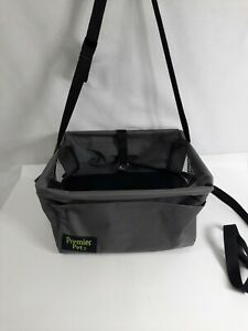 Premier Pet Car Booster Seat for Small Dogs Keeps Dog Secure Protects Seat