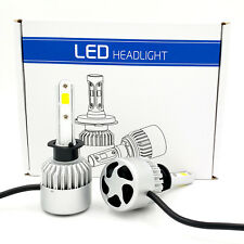 New Pair H1 900W 135000LM CREE LED Headlight Conversion Kit Beam Bulbs 6000K 2pc