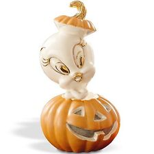 Lenox Tweety's Pumpkin Bird Figurine Halloween Jack O Lantern Looney Tunes New