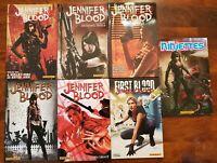 Jennifer Blood TPB Lot 1 2 3 4 5 First Blood Ninjettes Ennis Ewing Dynamite