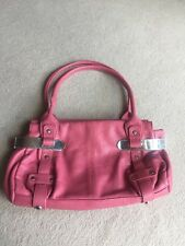 Woman's Pink Fiorelli Shoulder Handbag.
