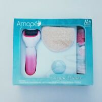 Amope Pedi Perfect Blissful Winter Holiday Gift Pack Foot File/Loofah/Bath Salts