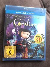 📀 Coraline 2D + neue 3D Version  - BLU-RAY-NEU-OVP 🎥