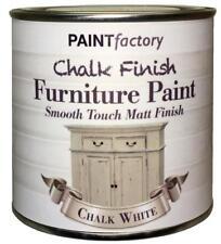 peinture USINE craie Crayeux Meuble peinture 250ml Blanc Mat
