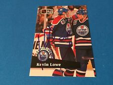 Kevin Lowe Oilers 1990-91 Pro Set Signed Auto Card