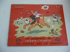 Edition Fleurus  Sylvain et Sylvette EDITION ORIGINALE à l'italienne N° 13