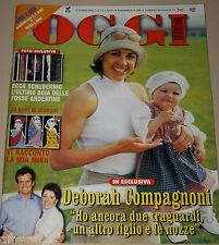 OGGI=2001/24=DEBORAH COMPAGNONI=PREMANA=TONY SOPRANO=GIANNI ROCCO E MINA=