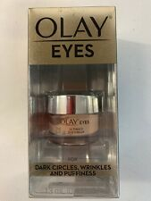Olay Eyes Ultimate Eye Cream For Dark Circles, Wrinkles, & Puffiness 0.4 Oz. NEW
