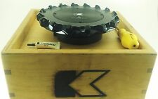 "KENAMETAL 200mm(7.87"") Indexable Milling Cutter 200C16RS45SE14BBJ"