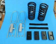 New MGB 1975-1980 Rubber Bumper Deluxe Lowering Kit w Front Springs Straps Etc